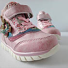 Теплые деми ботинки девочкам, р. 26 (16,5 см), фото 9