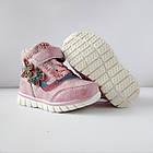 Теплые деми ботинки девочкам, р. 26 (16,5 см), фото 10