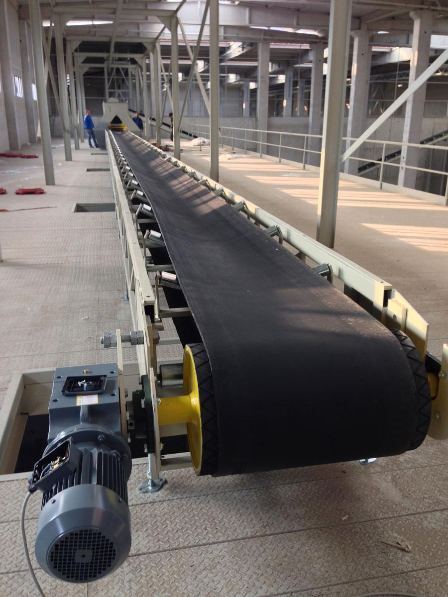 Конвейер ленточный тк конвейеры опорной конструкции