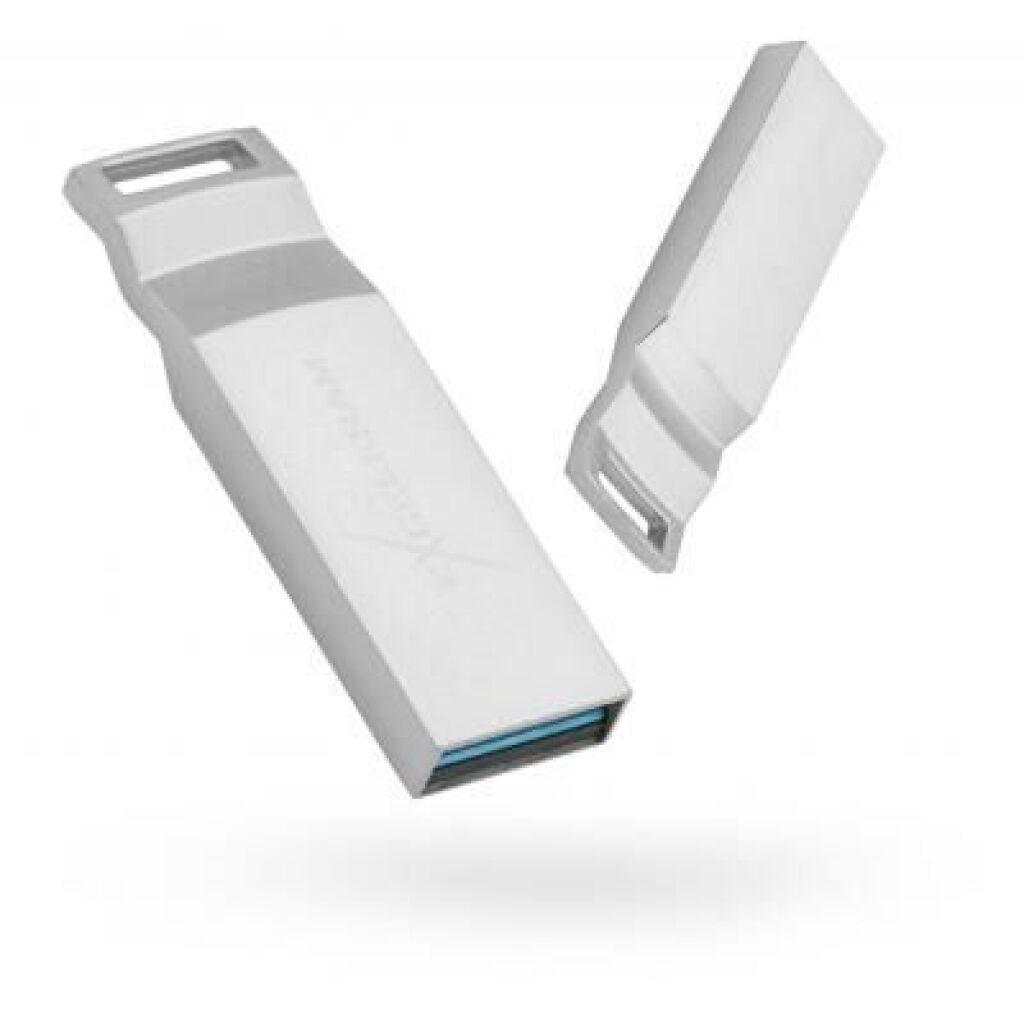 USB флеш накопитель eXceleram 64GB U2 Series Silver USB 3.1 Gen 1 (EXP2U3U2S64)