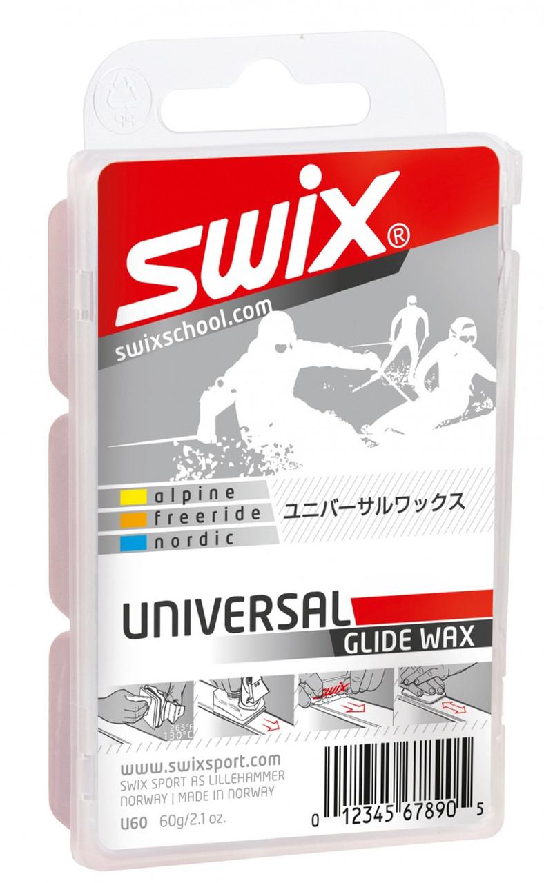 Универсальный парафин Swix U60 Universal Wax 60g