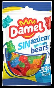 Жуйки Damel 100г без цукру bears ведмедики ,18шт/ящ