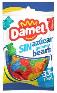 Жуйки Damel 100г без цукру Bears ведмедики,18шт/ящ 63139