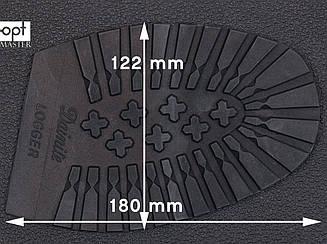 Профилактика DAINITE Logger, р. мужской (175*126 мм), цв. черный
