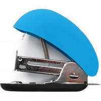 Степлер №24/6 Мини до 12 листов Soft Touch голубой
