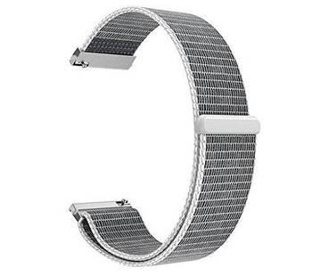 Нейлоновый ремешок Primo для часов Garmin Vivoactive 3 / Vivomove HR / Forerunner 245/645 - White