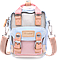 Мини рюкзак - сумочка Doughnut коралл, фото 5