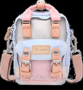 Мини - сумочка Doughnut пудра Код 10-2196