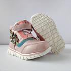 Теплые деми ботинки девочкам, р. 23, 24,  26, 27, 28, фото 7