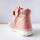 Теплые деми ботинки девочкам, р. 23, 24,  26, 27, 28, фото 5