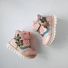 Теплые деми ботинки девочкам, р. 23, 24,  26, 27, 28, фото 9
