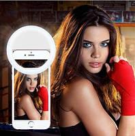 Светодиодное кольцо для селфи Selfie Ring RK-14