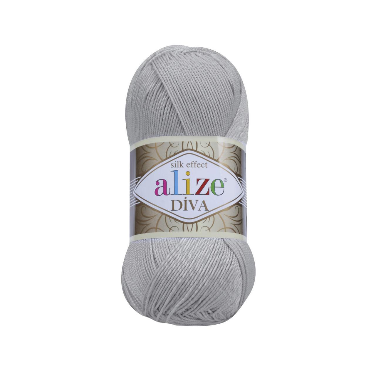 Пряжа класична Alize Diva №355