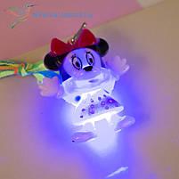 """Кулон детский светящийся в темноте """"Микки Маус 1"""", фото 3"""