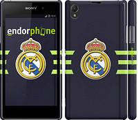 "Чехол на Sony Xperia Z1 C6902 Реал Мадрид ""2302c-38"""