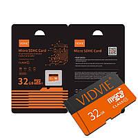 Карта памяти VIDVIE Micro SD 32Gb SDHC Card