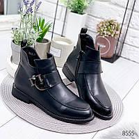 Ботинки женские Clarice черные , женская обувь