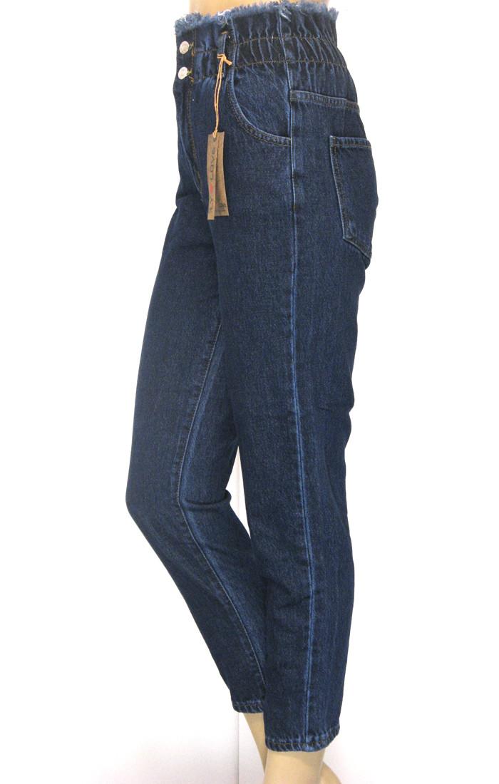 Жіночі джинси Mom jeans на резинці