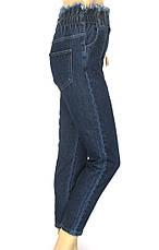 Жіночі джинси Mom jeans на резинці, фото 2