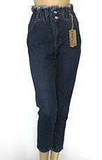 Жіночі джинси Mom jeans на резинці, фото 3