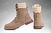 Берцы демисезонные / военная, рабочая обувь САХАРА (бежевый), фото 2