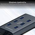 USB Type-C Хаб Promate EZHub-7, фото 8