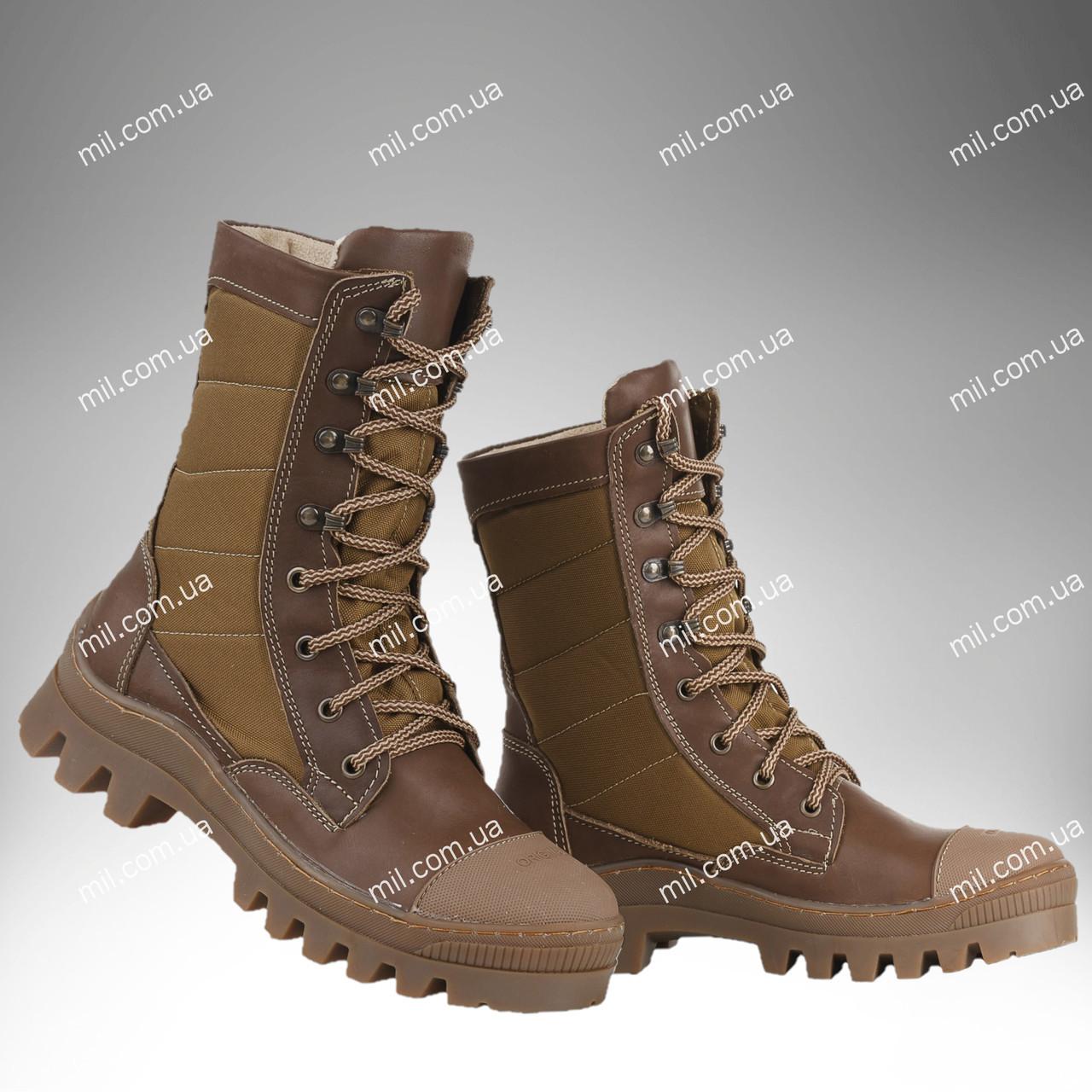Берцы демисезонные / военная, армейская обувь СКИФ II (койот)