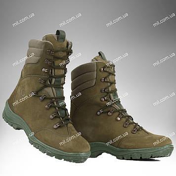 Берцы демисезонные / военная, тактическая обувь ОМЕГА (оливковый)