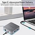 USB Type-C Хаб Promate Nexus-C, фото 3