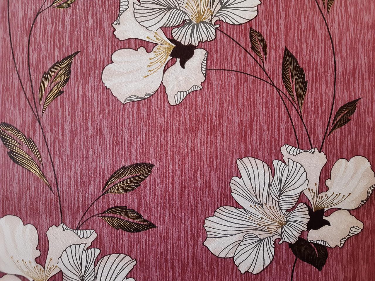 ROZETKA | Бумажные обои моющиеся Шарм 30-06 Подарочные розовые 0 ... | 960x1280
