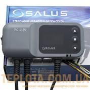 Регулятор для управления циркуляционным насосом или горячей воды SALUS PC11W