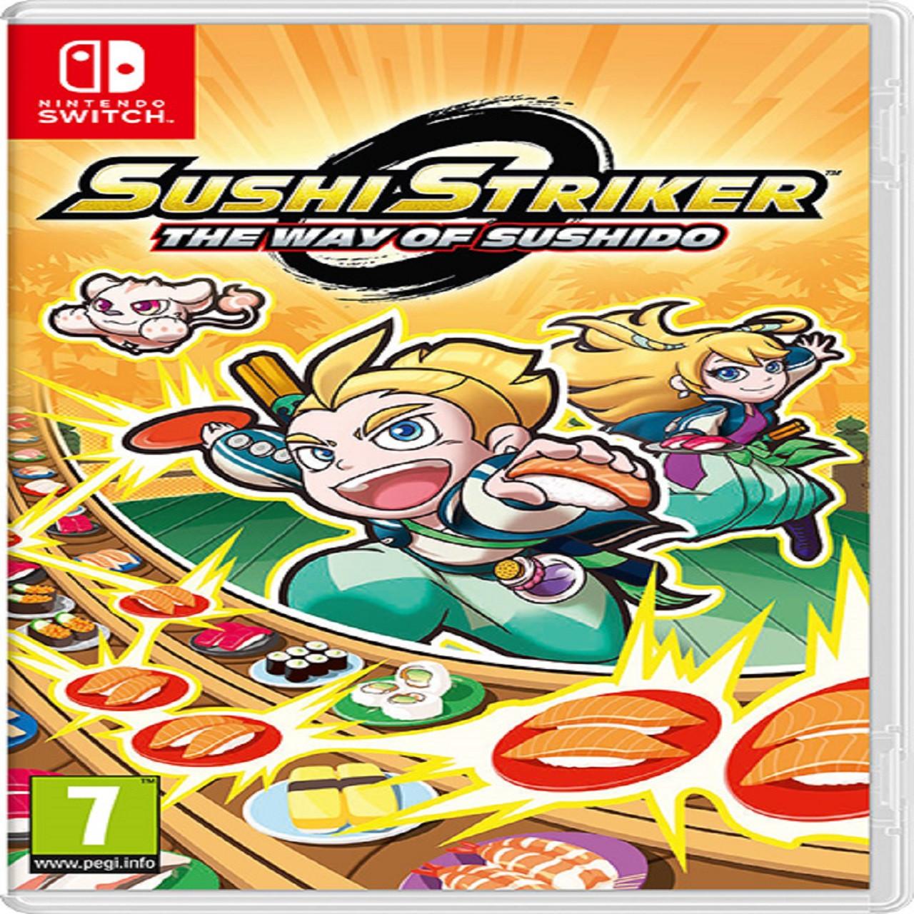 Sushi Striker: The Way of Sushido (англійська версія) Nintendo Switch
