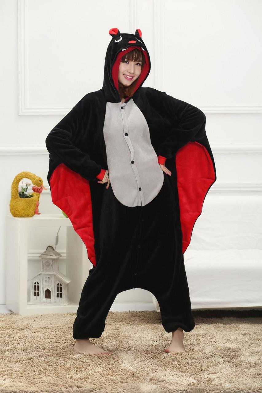 Пижама кигуруми Взрослая Летучая мышь
