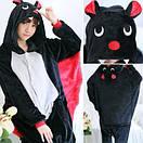 Пижама кигуруми Взрослая Летучая мышь, фото 4