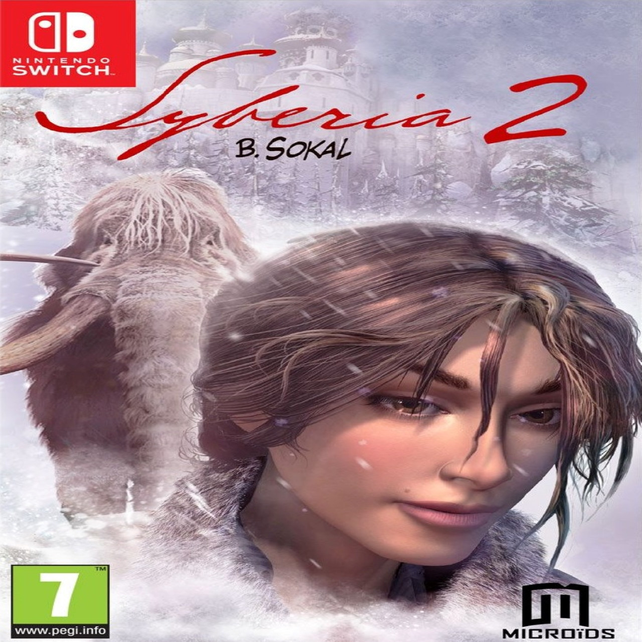Syberia 2 SUB Nintendo Switch (NEW)