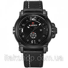 Мужские наручные часы Naviforce Plaza Black NF9099, фото 3