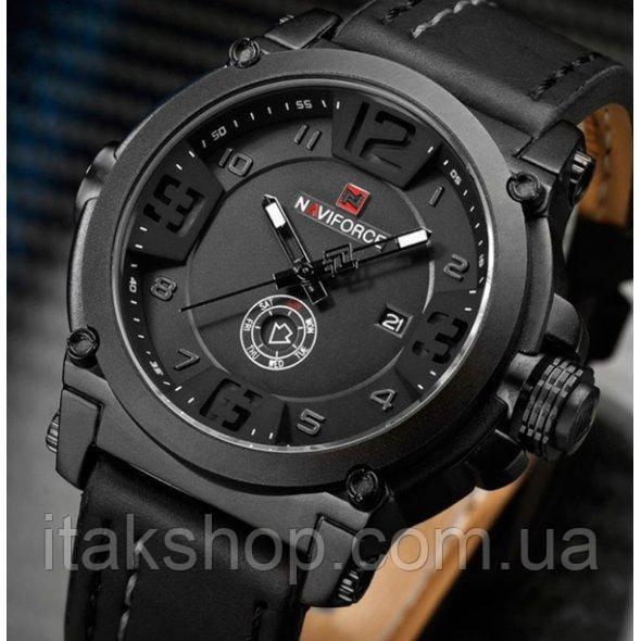 Мужские наручные часы Naviforce Plaza Black NF9099