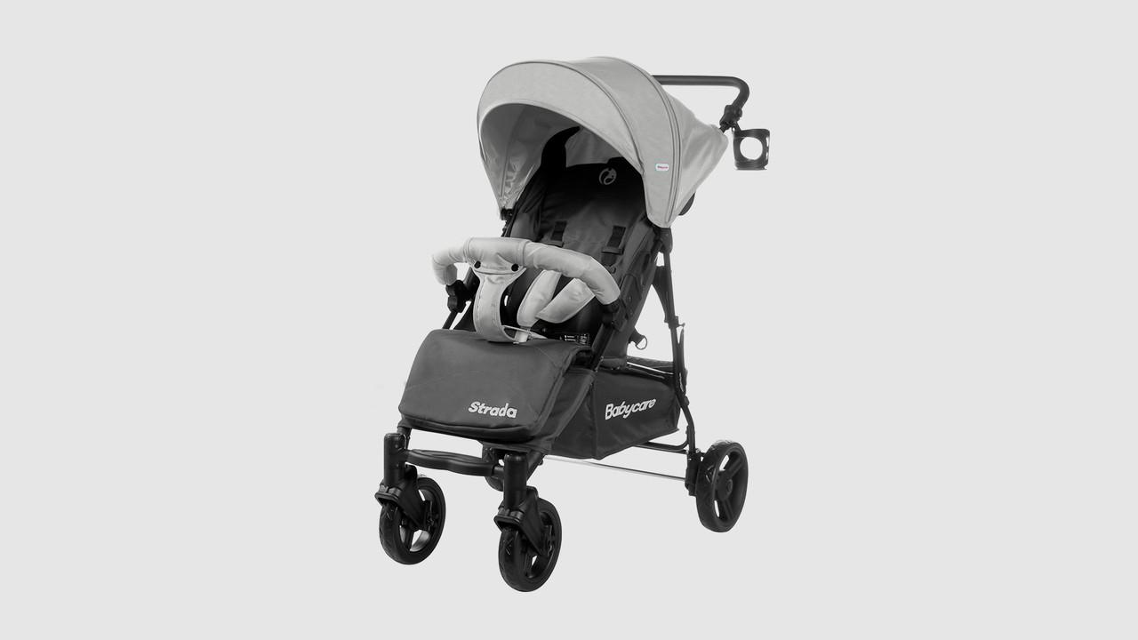 Коляска прогулочная Babycare Strada.CRL-7305-CLOUDGREY.Серый