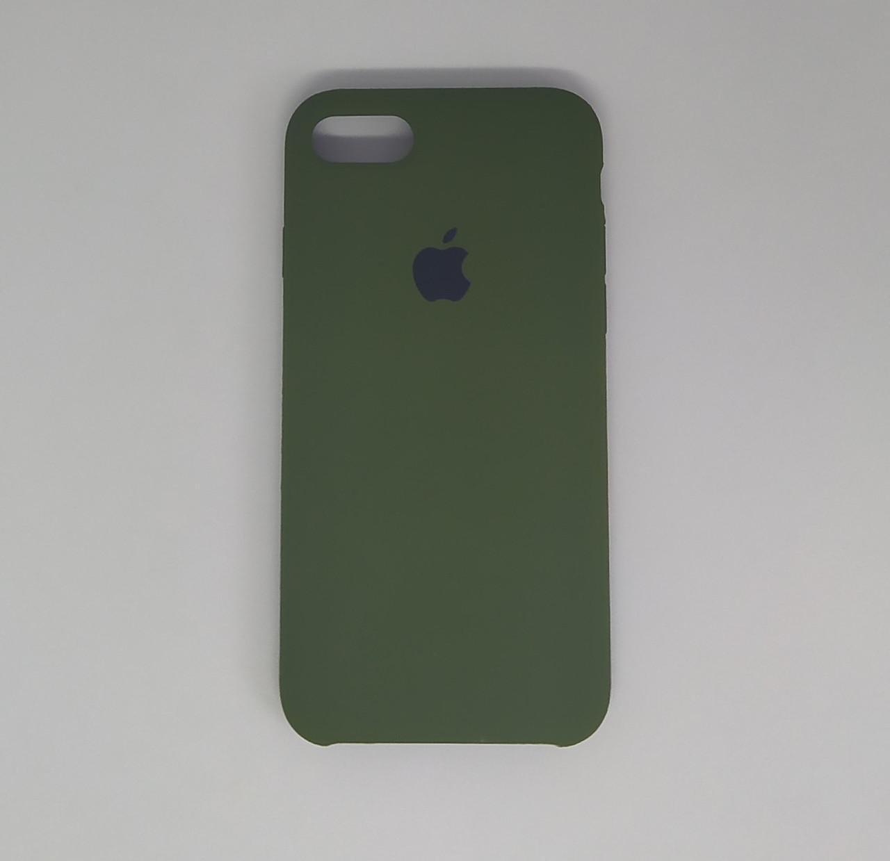 """Чехол - Silicon Case для iPhone """"Хаки - №48"""""""