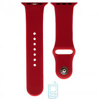 Ремешок Apple Watch Band Silicone One-Piece 38mm 27, wine red