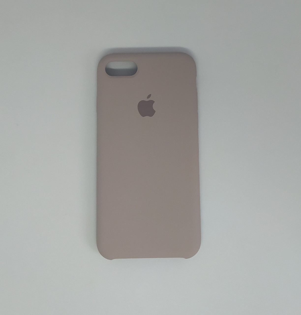 "Чехол - Silicon Case для iPhone ""Серая лаванда - №46"""
