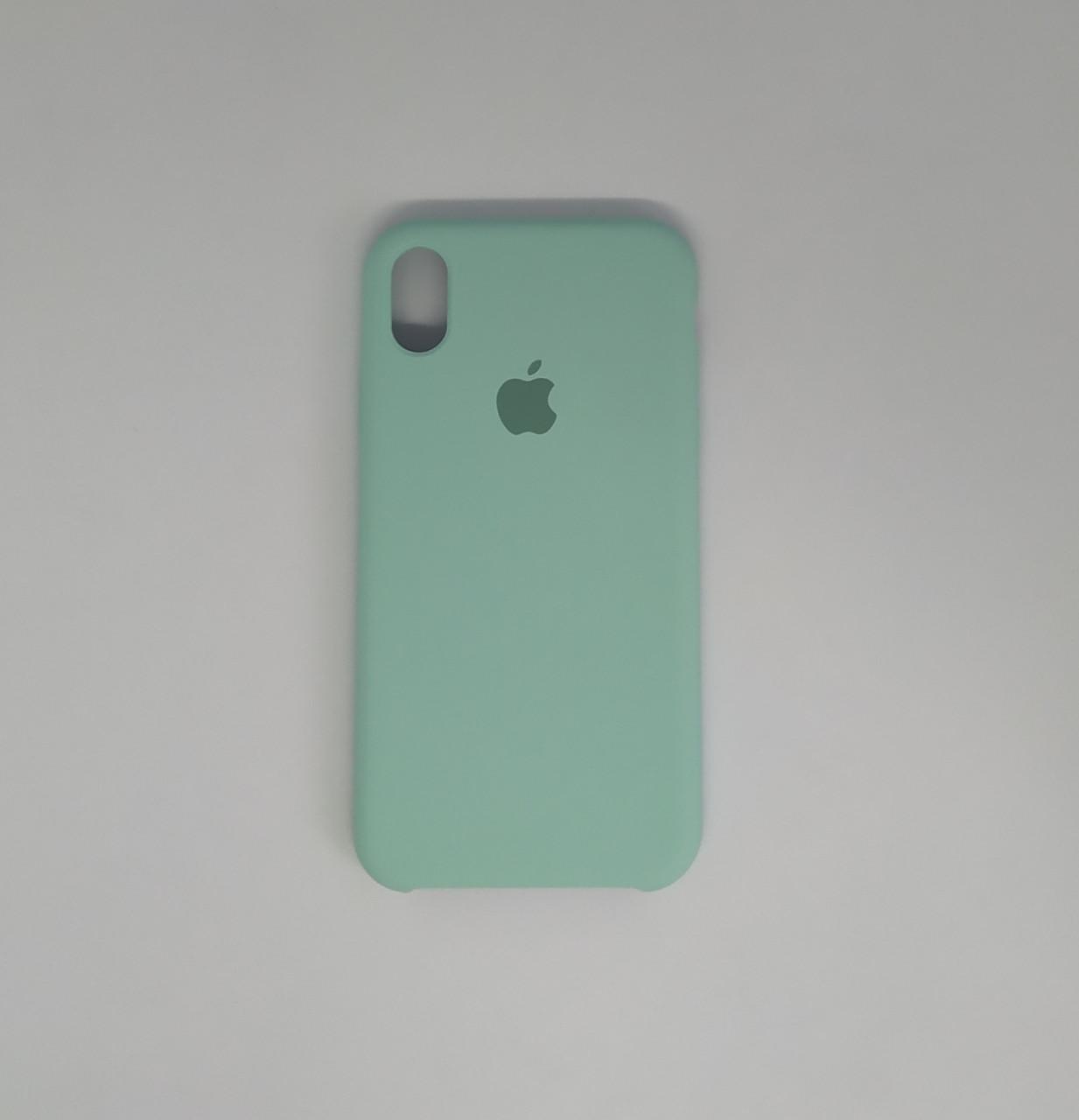 """Чехол - Silicon Case для iPhone """"Изумруд - №44"""""""