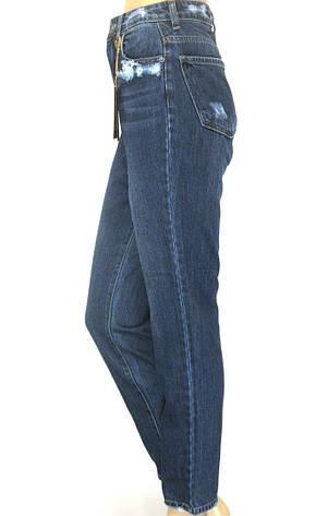 Жіночі джинси Mom jeans великі розміри, фото 2