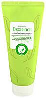Пилинг-скатка на основе зеленого чая DEOPROCE Premium Green Tea Peeling Vegetal