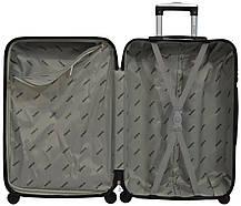 Комплект чемодан и кейс Bonro 2019 маленький желтый (10501000), фото 3