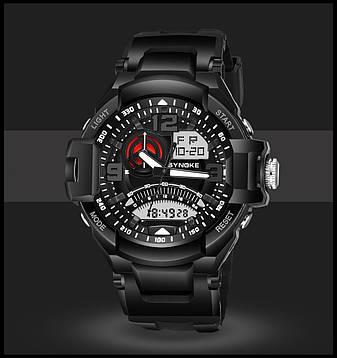 """Стильные спортивные электронные мужские часы """"Synoke"""", фото 2"""
