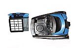 Пылесос колбовый Rainberg RB-652В 3700 Вт Серо-синий жолтый, фото 3