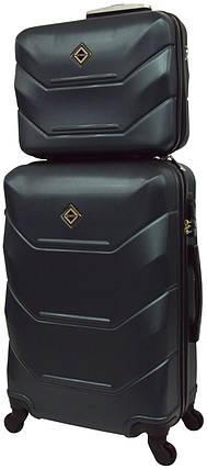Комплект чемодан и кейс Bonro 2019 большой изумрудный  (10501209), фото 2