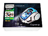 Пылесос колбовый Rainberg RB-652В 3700 Вт Серо-синий жолтый, фото 4