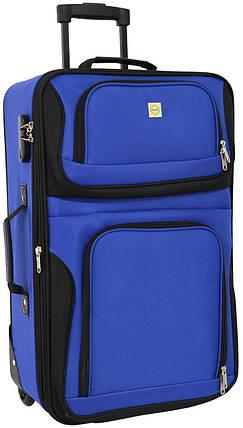 Дорожный чемодан на колесах Bonro Best средний синий  (10080302), фото 2